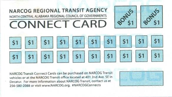 Transit Connect Card