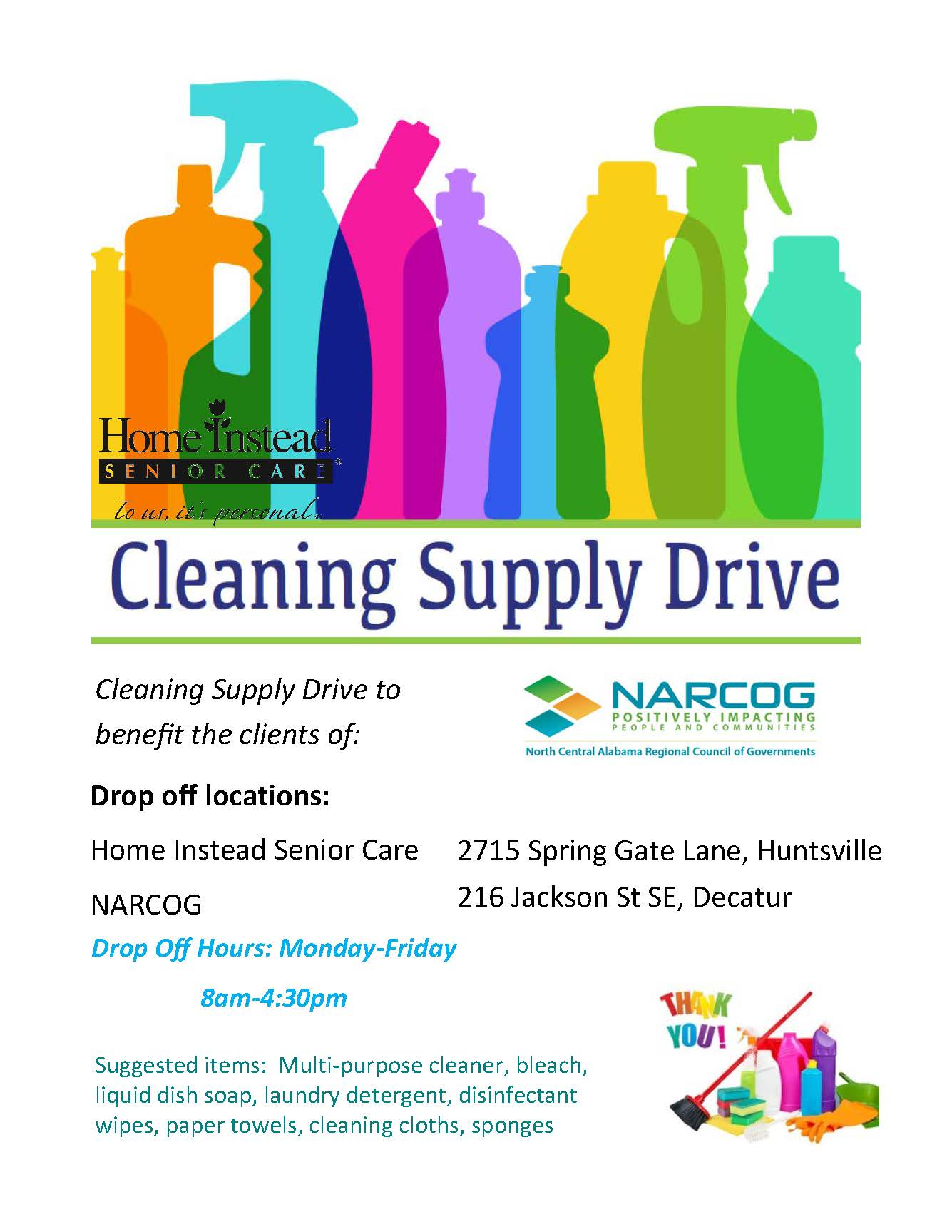 cleaning supply drive Page 1