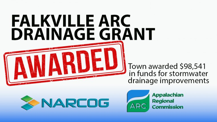 Falkville Awarded ARC Grant for Stormwater Drainage Improvements