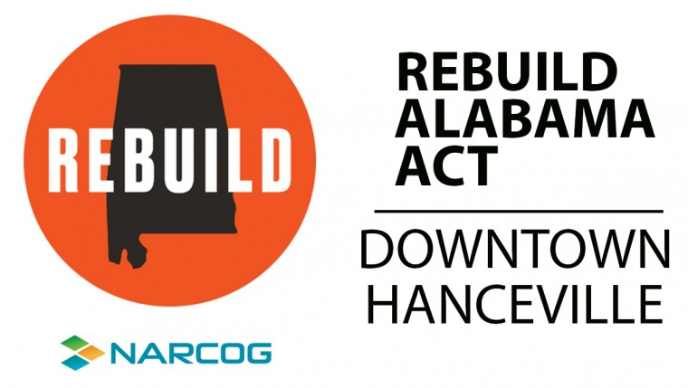 Hanceville Rebuild Alabama Act Project Completed