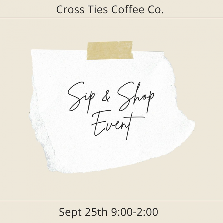 Cross Ties Coffee, Decatur-Morgan E-Center hosting Pop-up Shop Event in Falkville